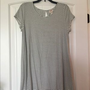 Dresses & Skirts - Black And White striped dress size Large